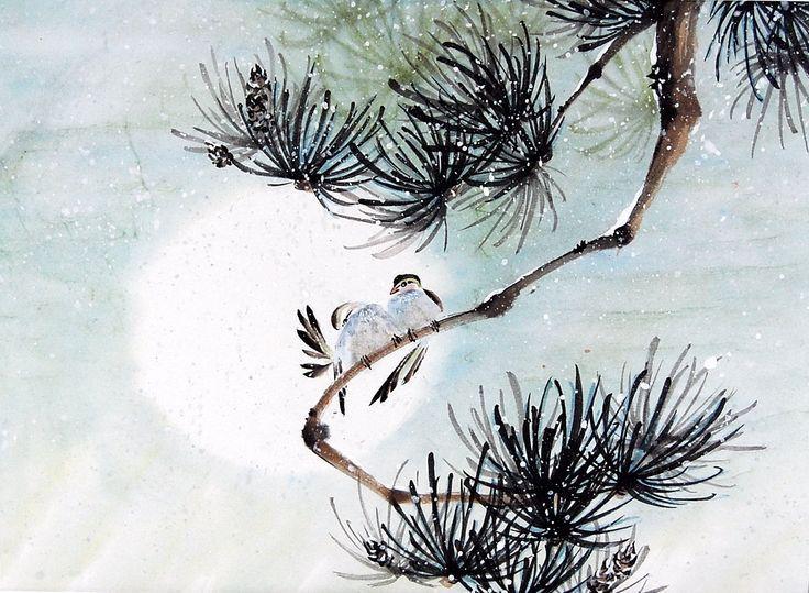 antique japanese ink p...