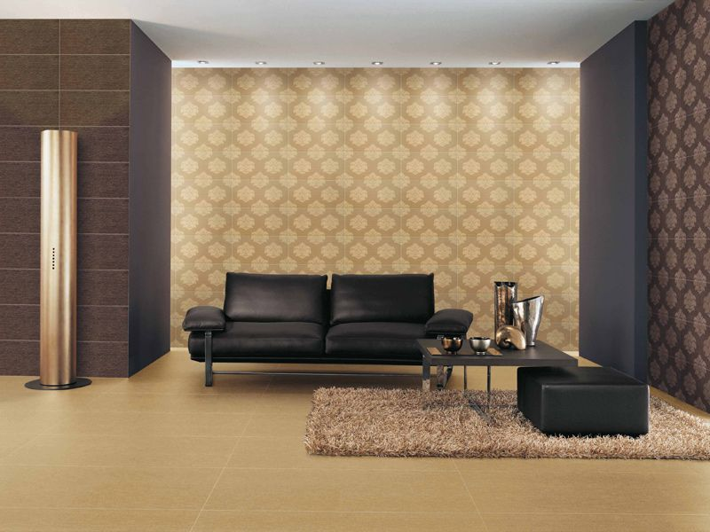 PORCELAIN STONEWARE WALL/FLOOR TILES WITH TEXTILE EFFECT GLOW ...
