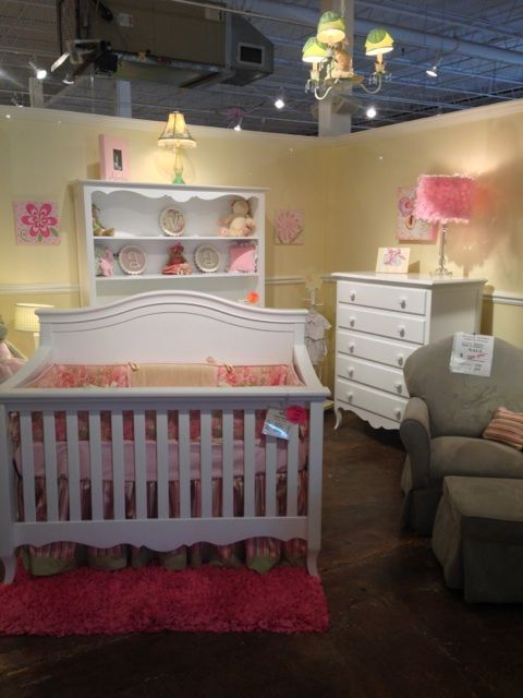 Sophia Crib, Dresser, Hutch, and Chest in White www.georgiababy.com ...