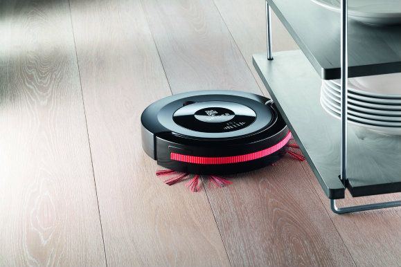 this robot duster, the dirt devil spider has special brushes with