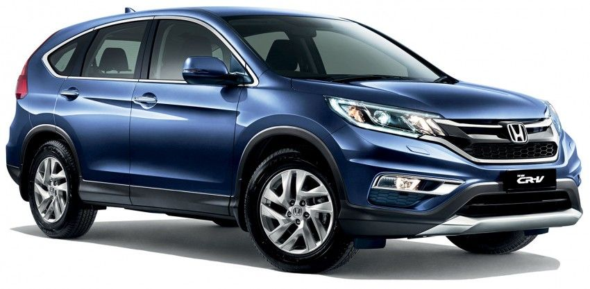 Honda CR-V facelift launched in Malaysia – new 2.0L 2WD, 2.0L 4WD and 2.4L 4WD, from RM139,800 Image #305474