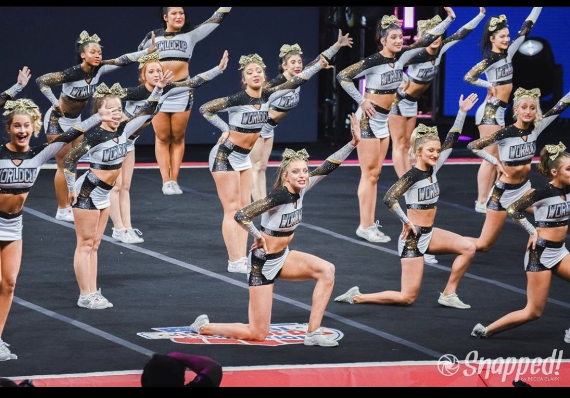 World Cup Shooting Stars In 2020 Cheer Poses Cheerleading Cheer