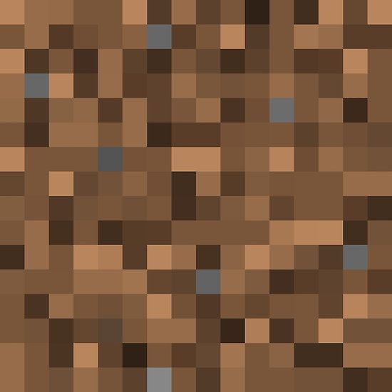 Minecraft Coarse Dirt Minecraft Posters Pinterest