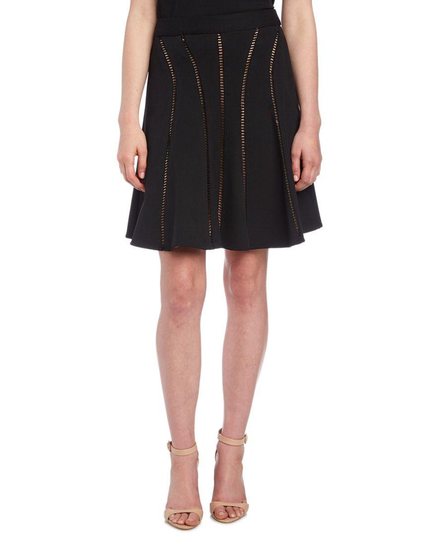 Nanette Lepore Ivory Coast Eyelet Skirt is on Rue. Shop it now.