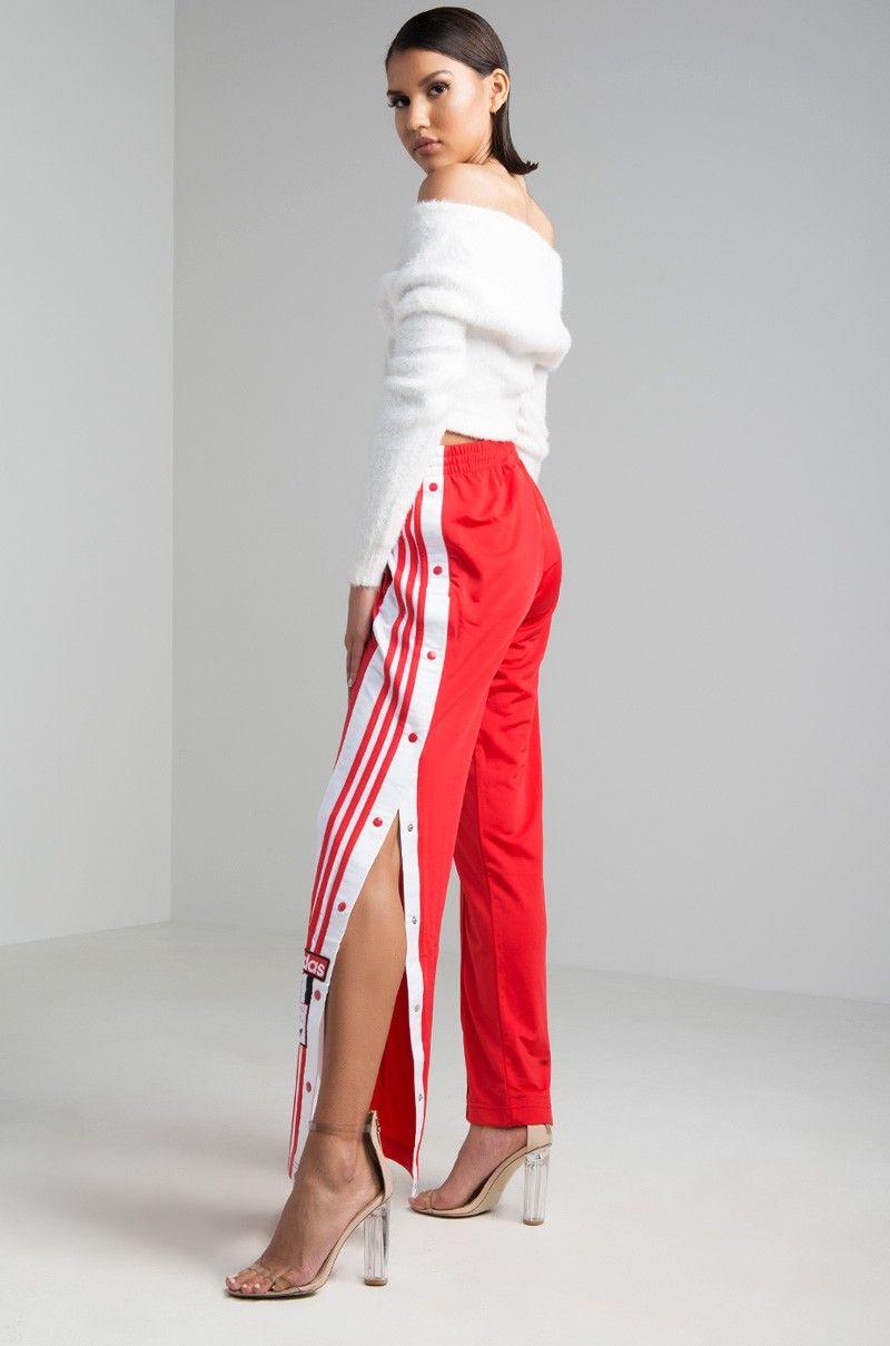 Adibreak Side Snap Track Pants in 2020 | Track pants women