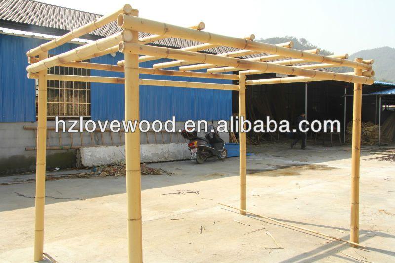 pergola bambou arbor arches pavillon pergola et ponts. Black Bedroom Furniture Sets. Home Design Ideas