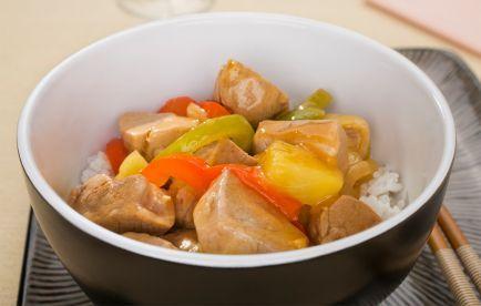 Sweet & Sour Pork-- Caribbean Style!   via @SparkPeople #recipe