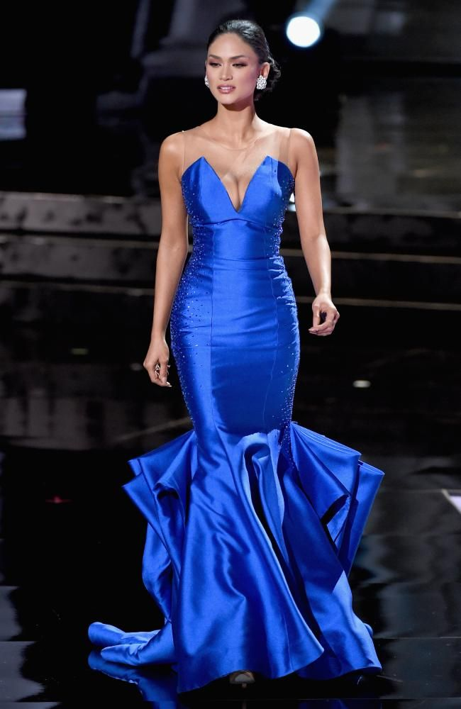 Pia Alonzo Wurtzbach: Miss Universe Philippines 2015-Evening Gown ...