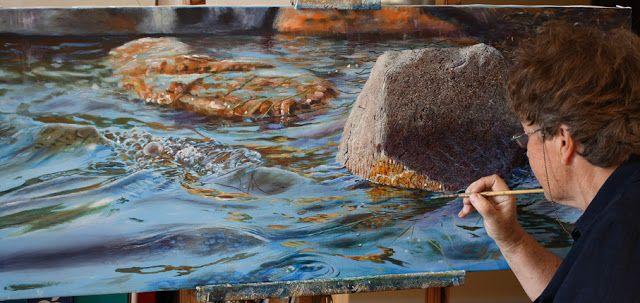 Artist Elizabeth Tyler: Painting depth in acrylics