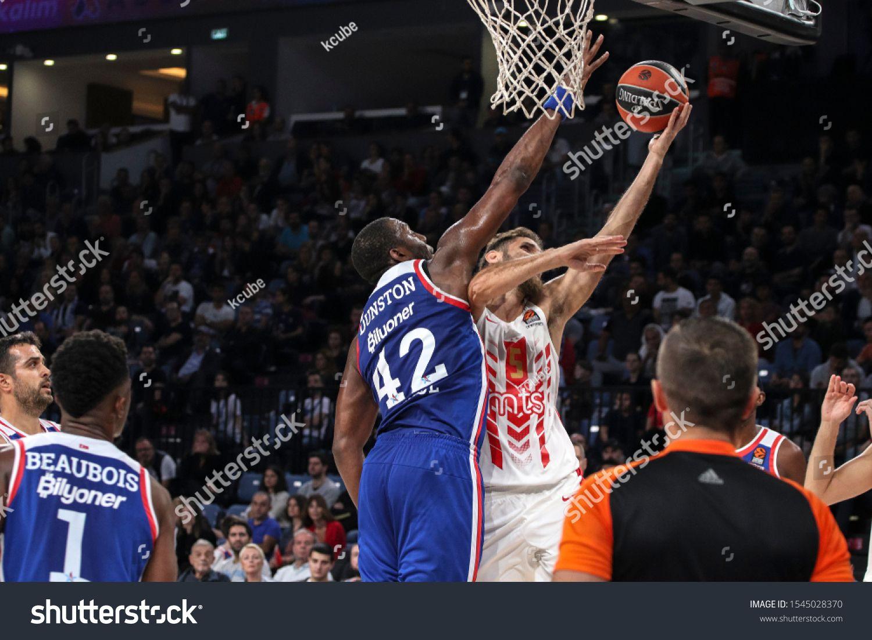 ISTANBUL \u002F TURKEY, OCTOBER 29, 2019 EuroLeague 2019