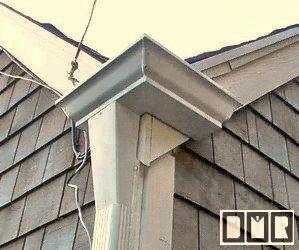Dmr Gutters Unusual Gutter Fabrication Photopage Gutters House Gutters Gutter Drainage