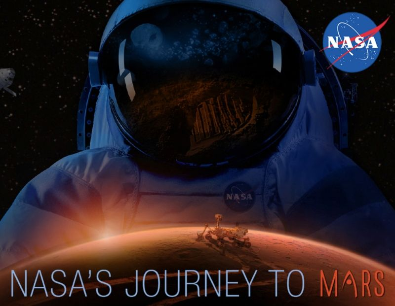 send boarding pass with your name to Mars at NASA