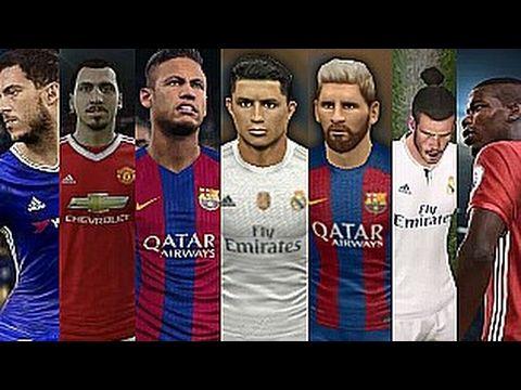 d60e552c8c0 Dream League Soccer Faces   Dream League Soccer 2016 VS Dream League Soccer  2017 - YouTube