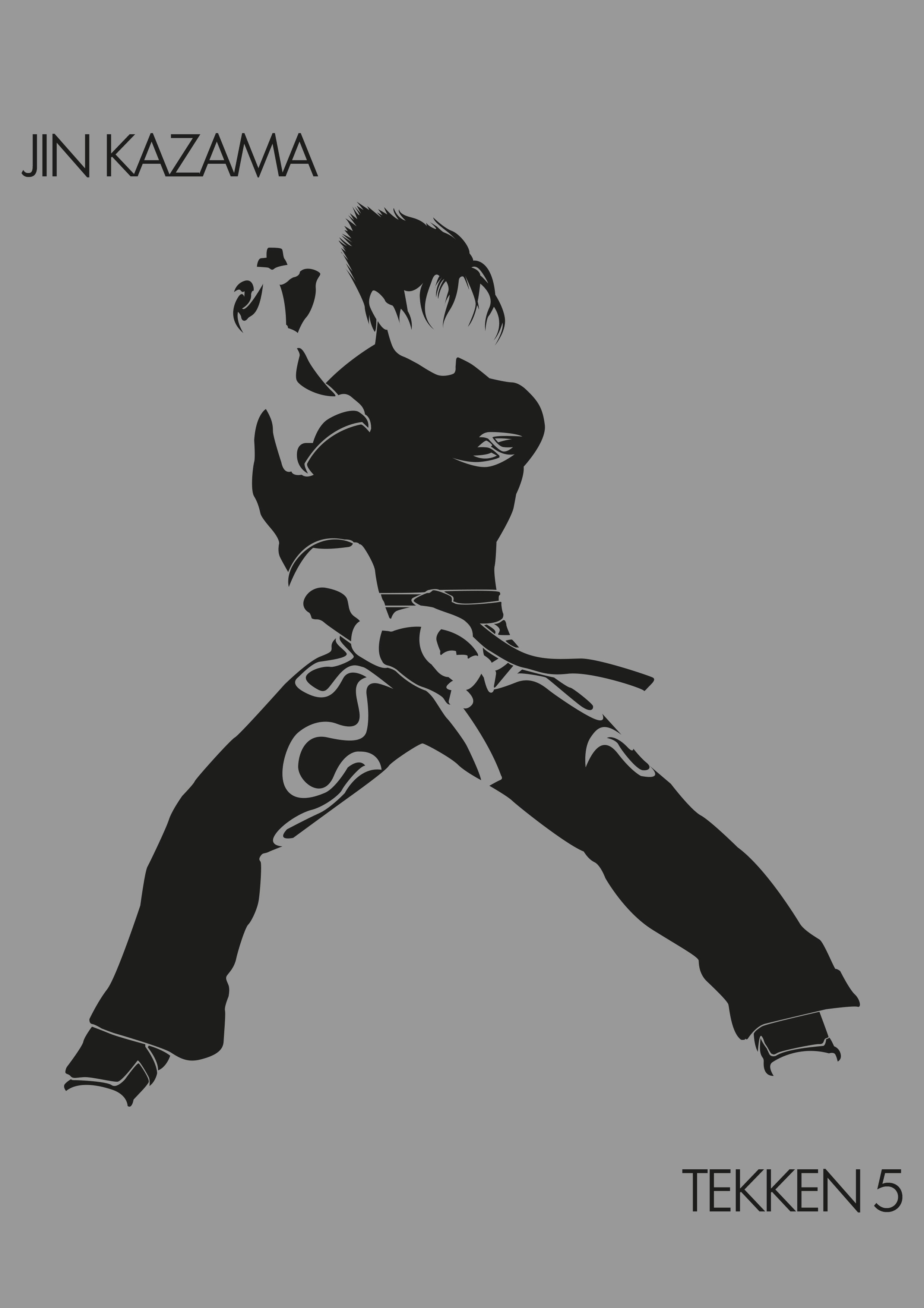 Jin Kazama Tekken 5 By Marco Desenhos Antigos Overwatch Desenhos