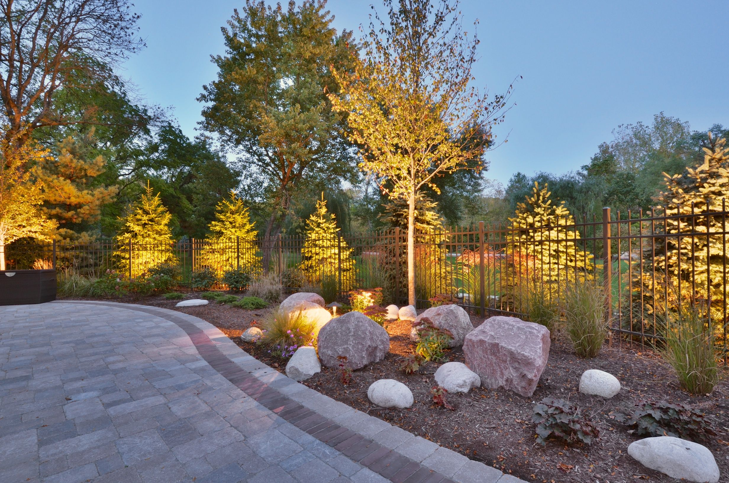 Residential Landscape Lighting Design Houston Tx