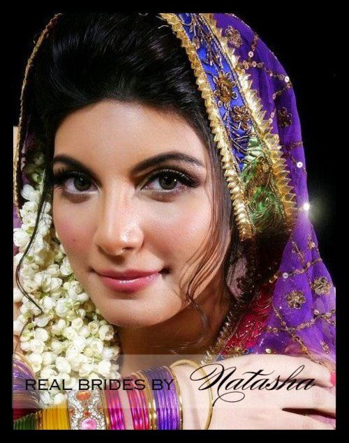 Mehndi Night Makeup : Pakistani hena night make up authentic