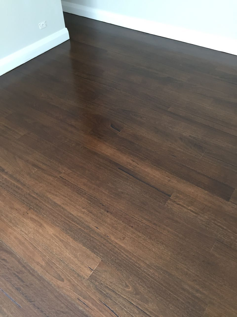 Blackbutt Stained Japan Brown 4 Of 5 Painted Wood Floors Hardwood Floor Colors House Flooring