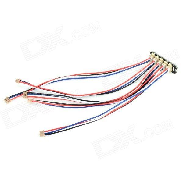 Pixhawk / APM / PX4 I2C Splitter Module (One Board + 5 Wires ...