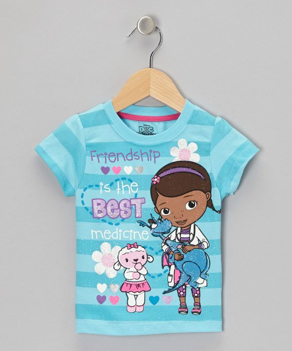 17e889dc1495 Take a look at this Doc McStuffins Blue  Best Medicine  Doc ...