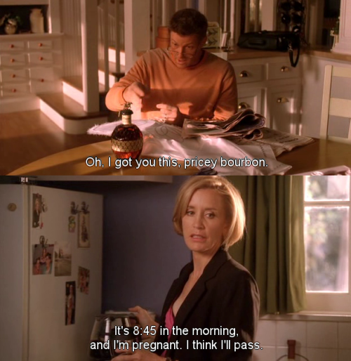 I got you this pricey bourbon ~ Desperate Housewives Quotes ~ Season 6, Episode 9: Would I Think of Suicide?