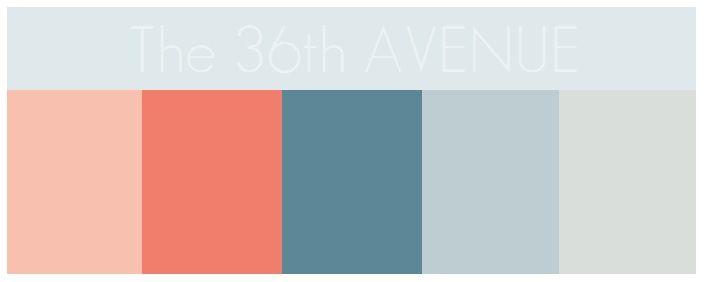 The 36th Avenue Color 101 Baby Nurseries Cool Color Palette