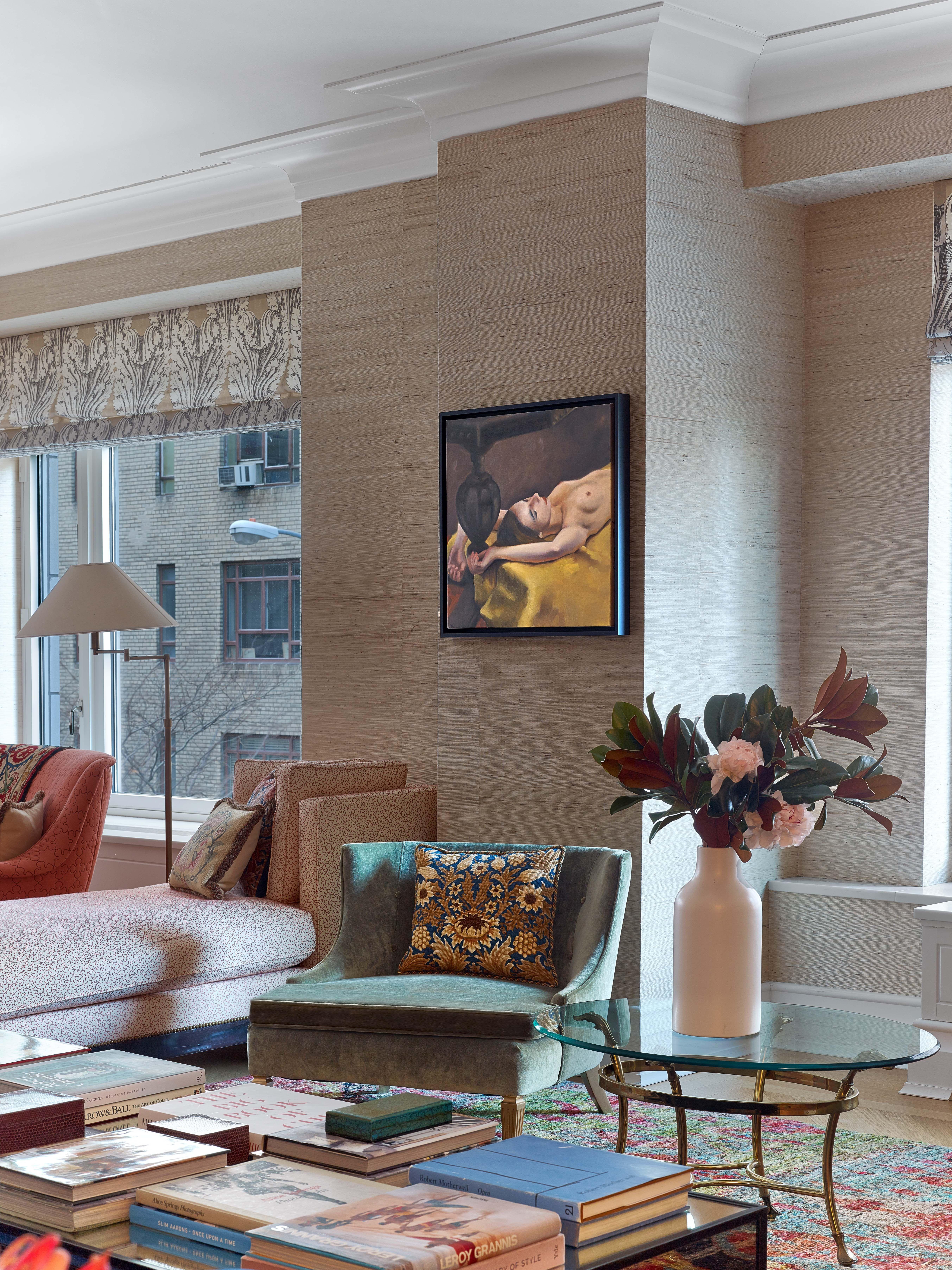 Central Park West   Living Room   Kati Curtis Design | NYC Interior  Designers