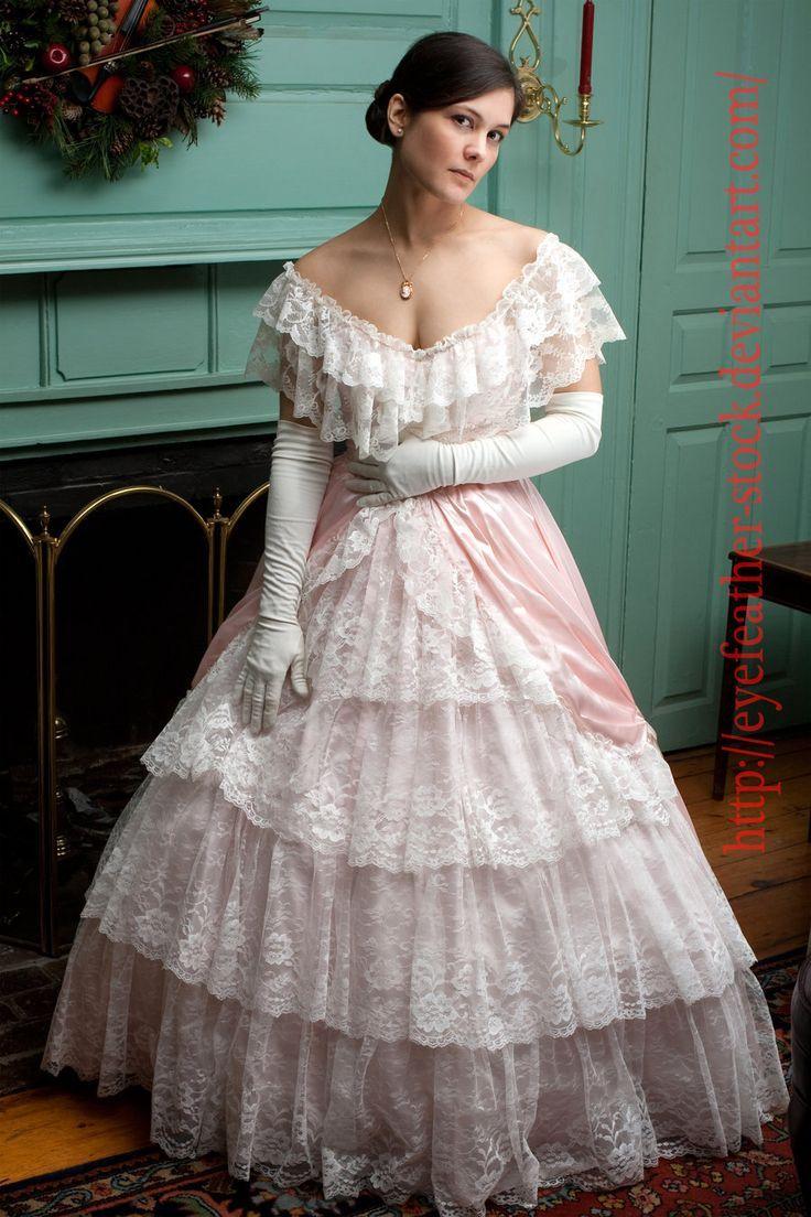 Feminine Boys in Wedding Dress Southern belle dress
