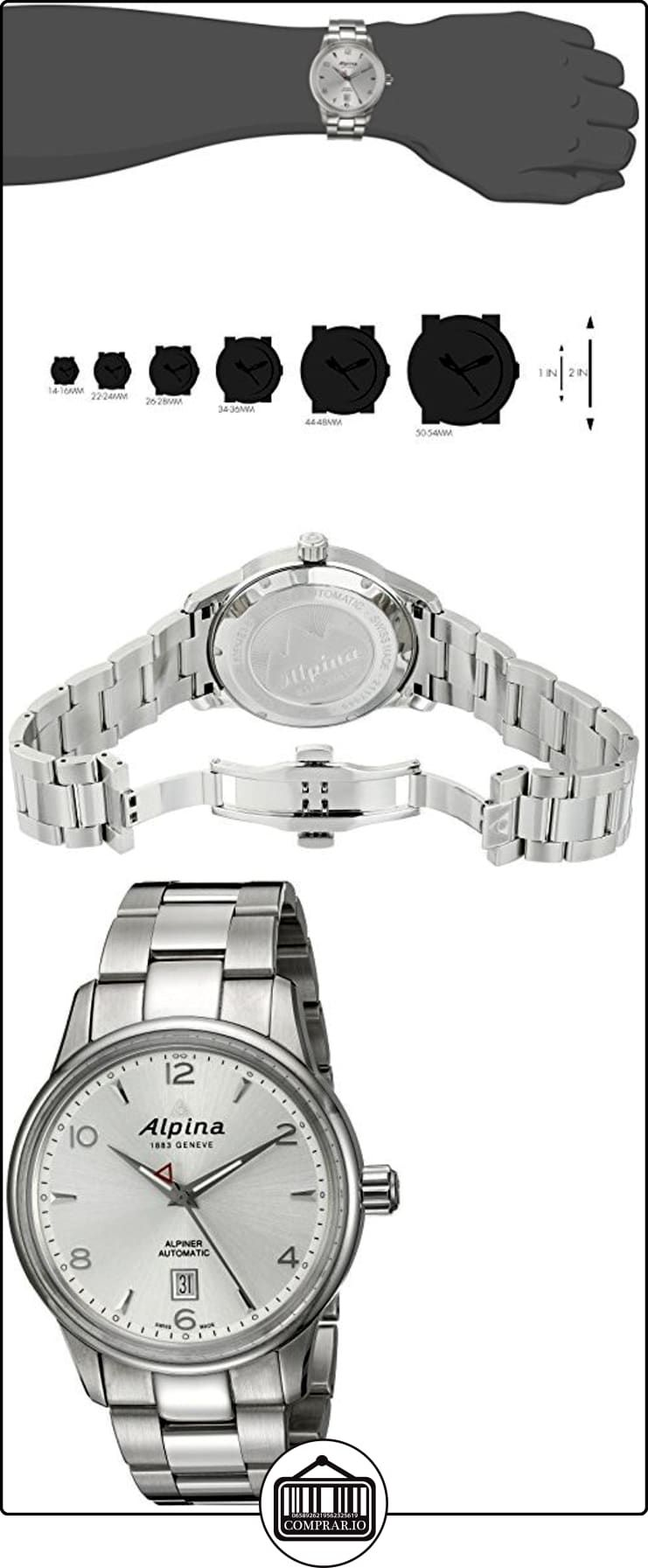 ec0816a3bea5 Alpina Reloj de caballero AL-525S4E6B ✿ Relojes para hombre - (Lujo ...