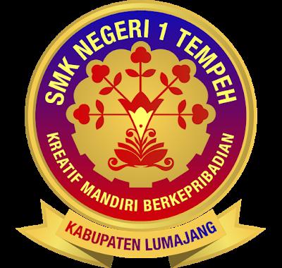 SMKN 1 Tempeh Lumajang Logo di 2020 Teknik komputer