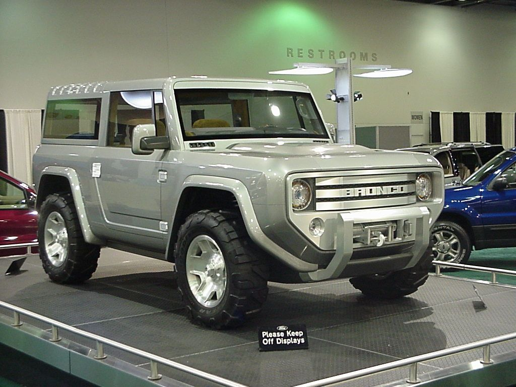 Ford Bronco Prototype From 2005 Columbus Ohio Auto Show Ford