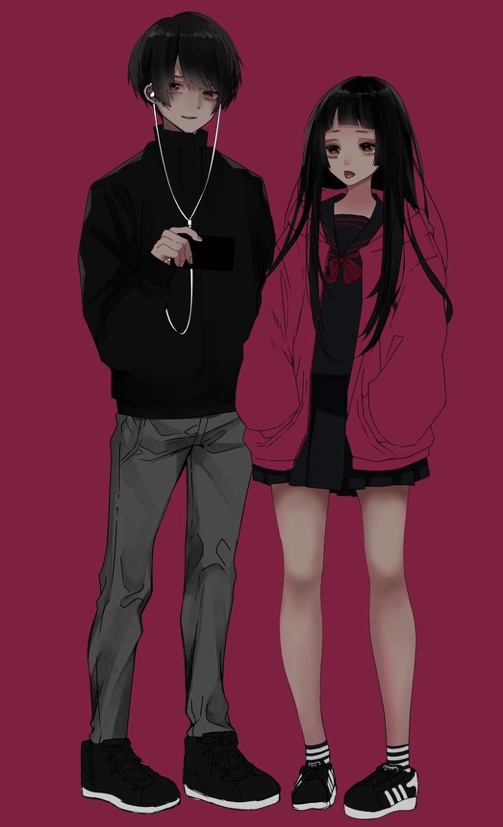 original creation boy きょうだい pixiv アニメの親友 アニメの服を描く 芸術的アニメ少女