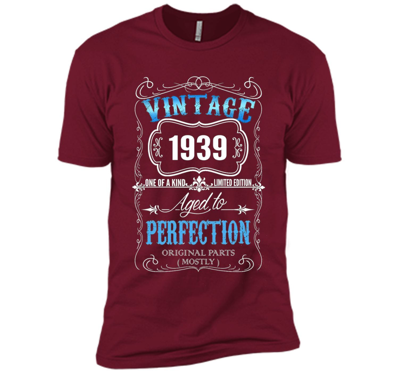 Vintage born in 1939 tshirt 78 Years old birthday