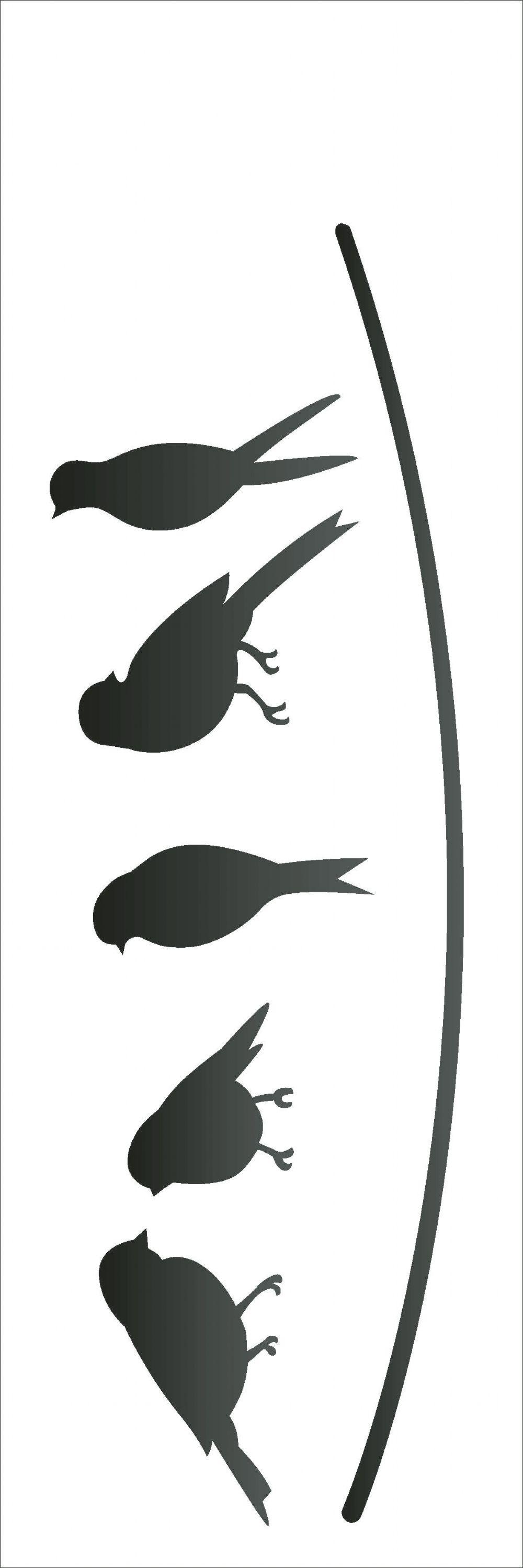 10x30 simples pássaros opa2161 desenho ilustraçao pinterest
