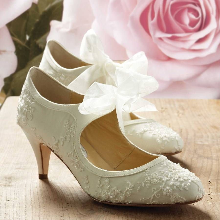 Wedding shoes for lace dress  Miss Alice Lace Wedding Shoes  Beach wedding shoes  Pinterest