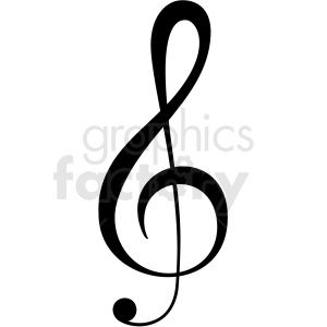 treble clef vector image #trebleclef