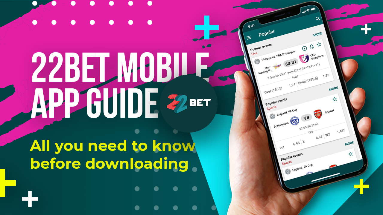 22BET MOBILE APP HOW TO DOWNLOAD FOR IOS/ANDROID in 2020