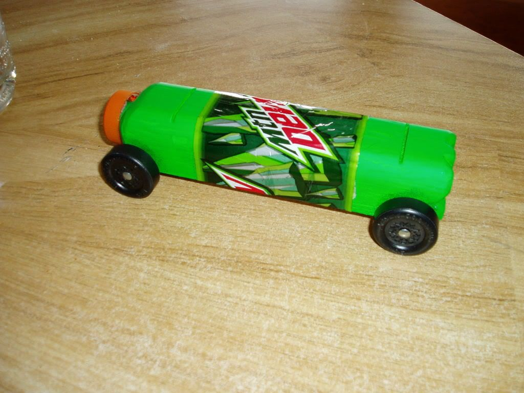 template for pinewood derby car | this is my entry that was soundly ...