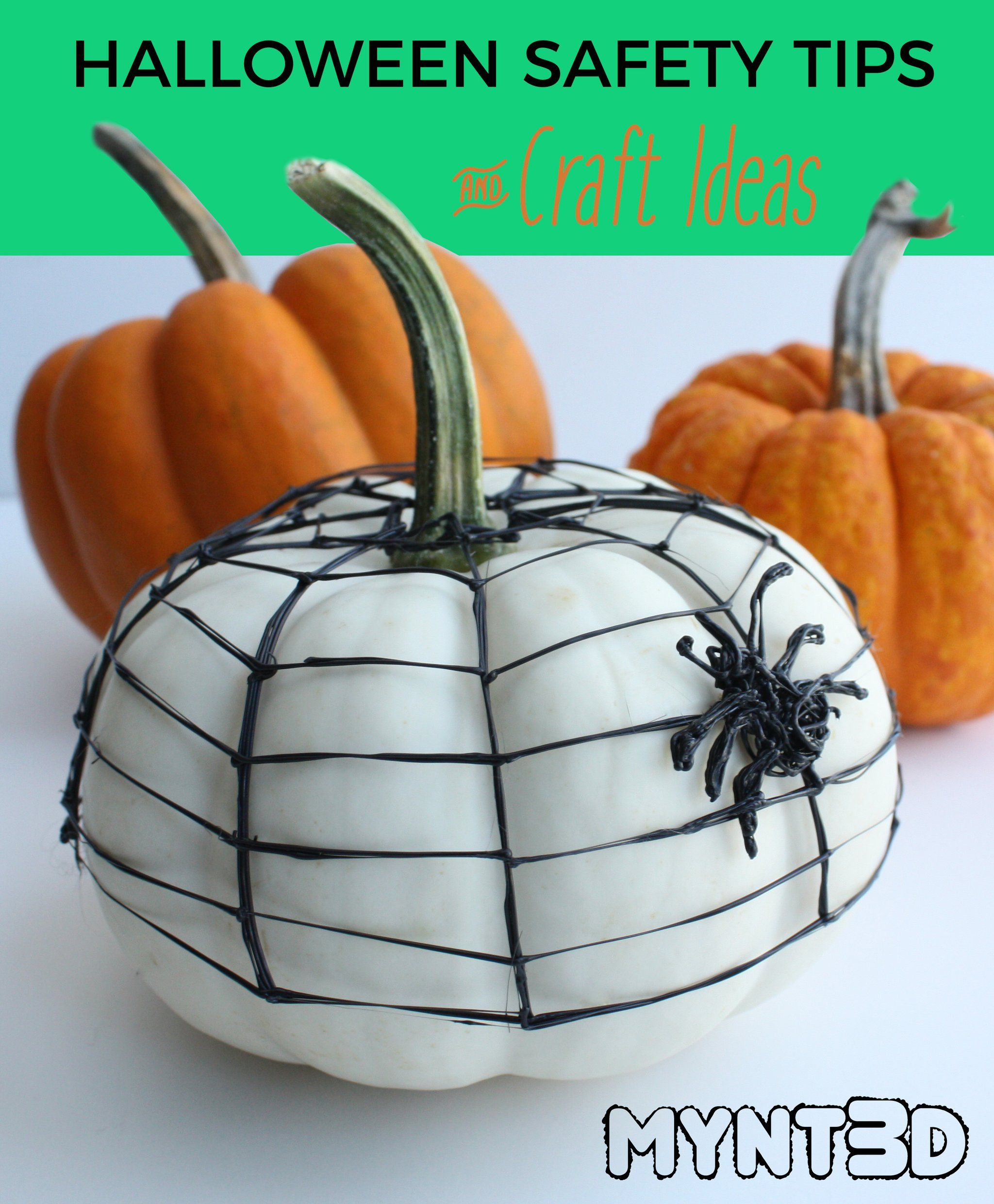 Halloween Safety Tips And 3d Pen Projects Halloween Safety Tips