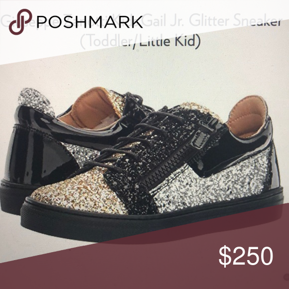a60a8b2752ca1 Giuseppe Zanotti kids Glitter sneakers Dress up your shinning star in  sparking beauty of the GZ glitter sneak Giuseppe Zanotti Shoes Sneakers