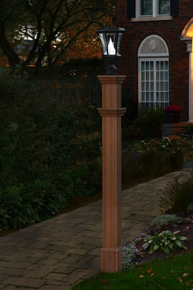 Image Result For Wooden Lamp Post Designs New England Arbors Backyard Lighting Landscape Lighting Design