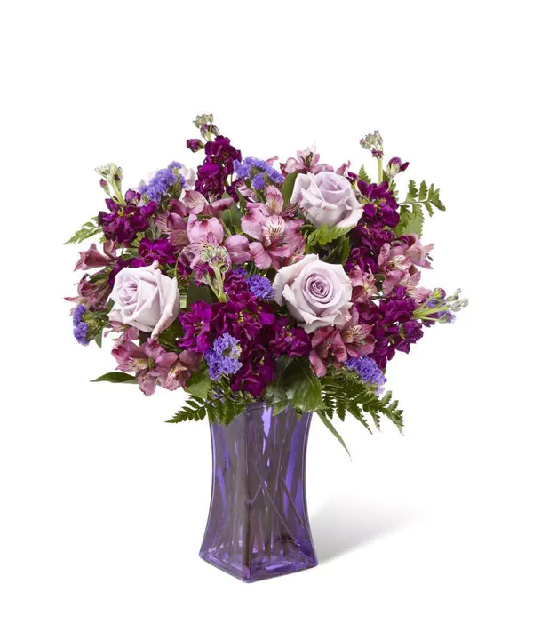 Purple Presence Mothers Day Flower Delivery Lavender Roses Flower Delivery