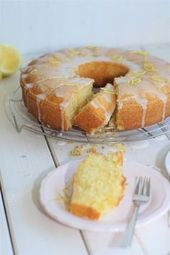 Photo of Lemon buttermilk cake from a tin »affektblog.de Lemon buttermilk cake …