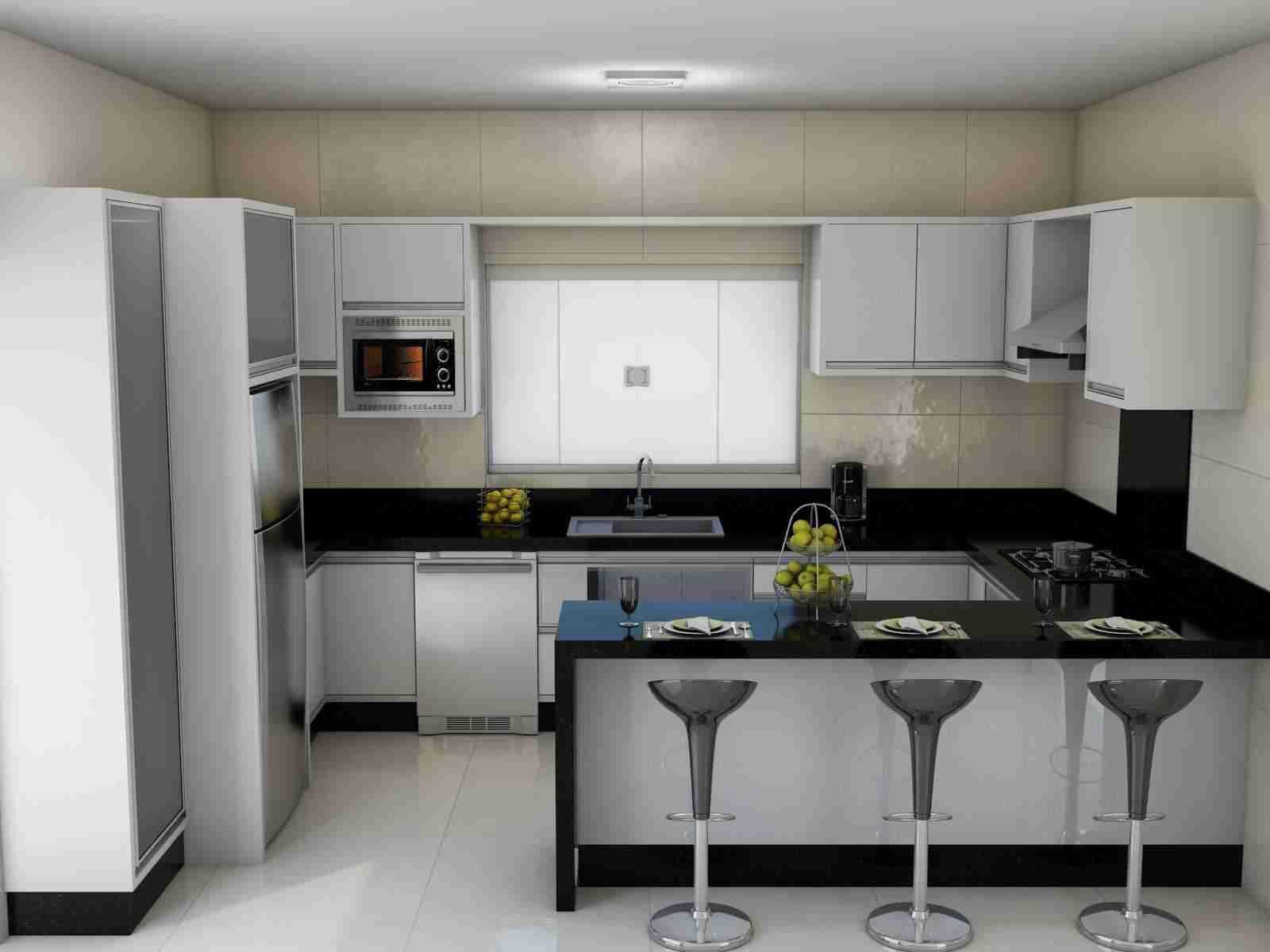 Modelos de cozinhas 4 pictures to pin on pinterest - Fotos De Cozinhas