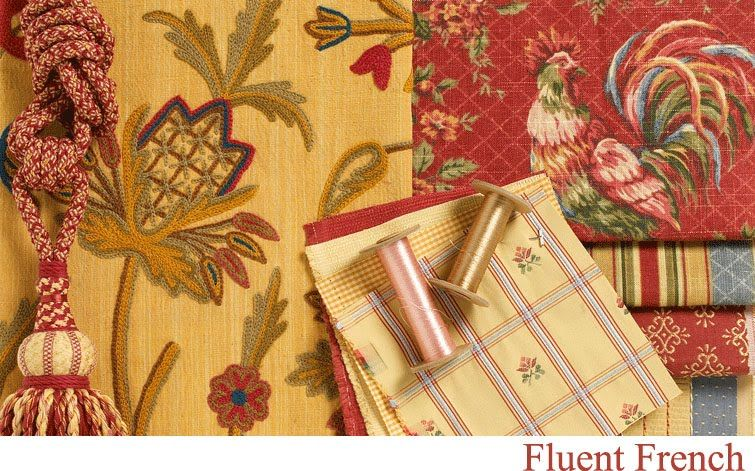 Mixing Fabric Patterns French Country Fabric French