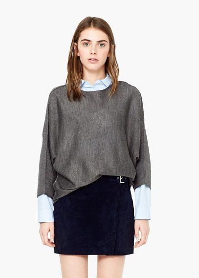 Camisola básica | MANGO