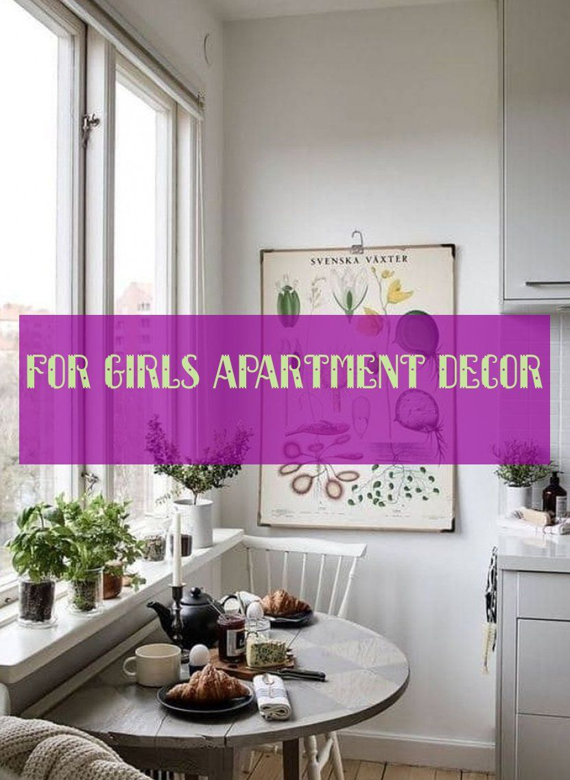 For Girls apartment decor
