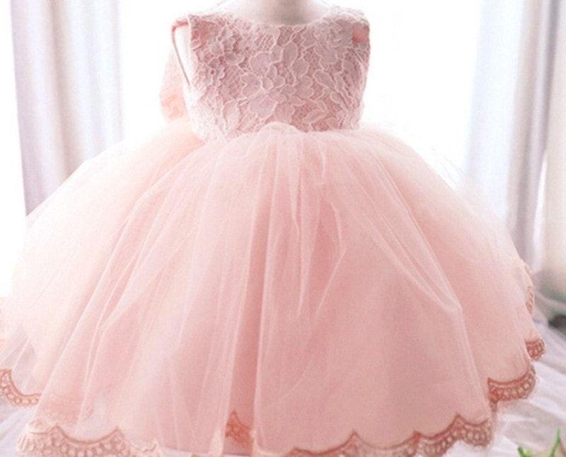 e813ab318 Kids Birthday Princess Party Dress for Girls Infant Flower Children ...
