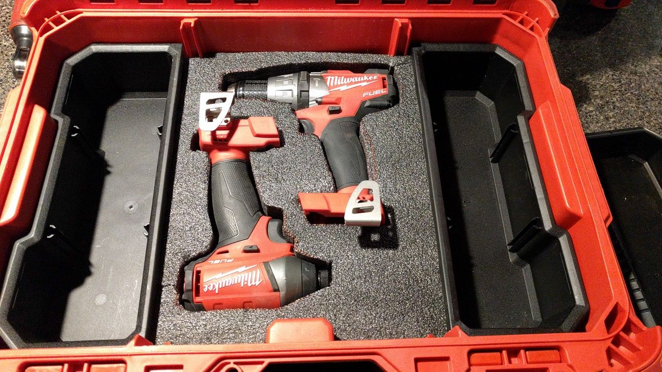 Milwaukee packout tool storage. Kaizen foam insert for an ...