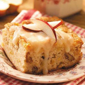 Apple Nut Cake With Rum Sauce Recipe Rum Sauces And Apples