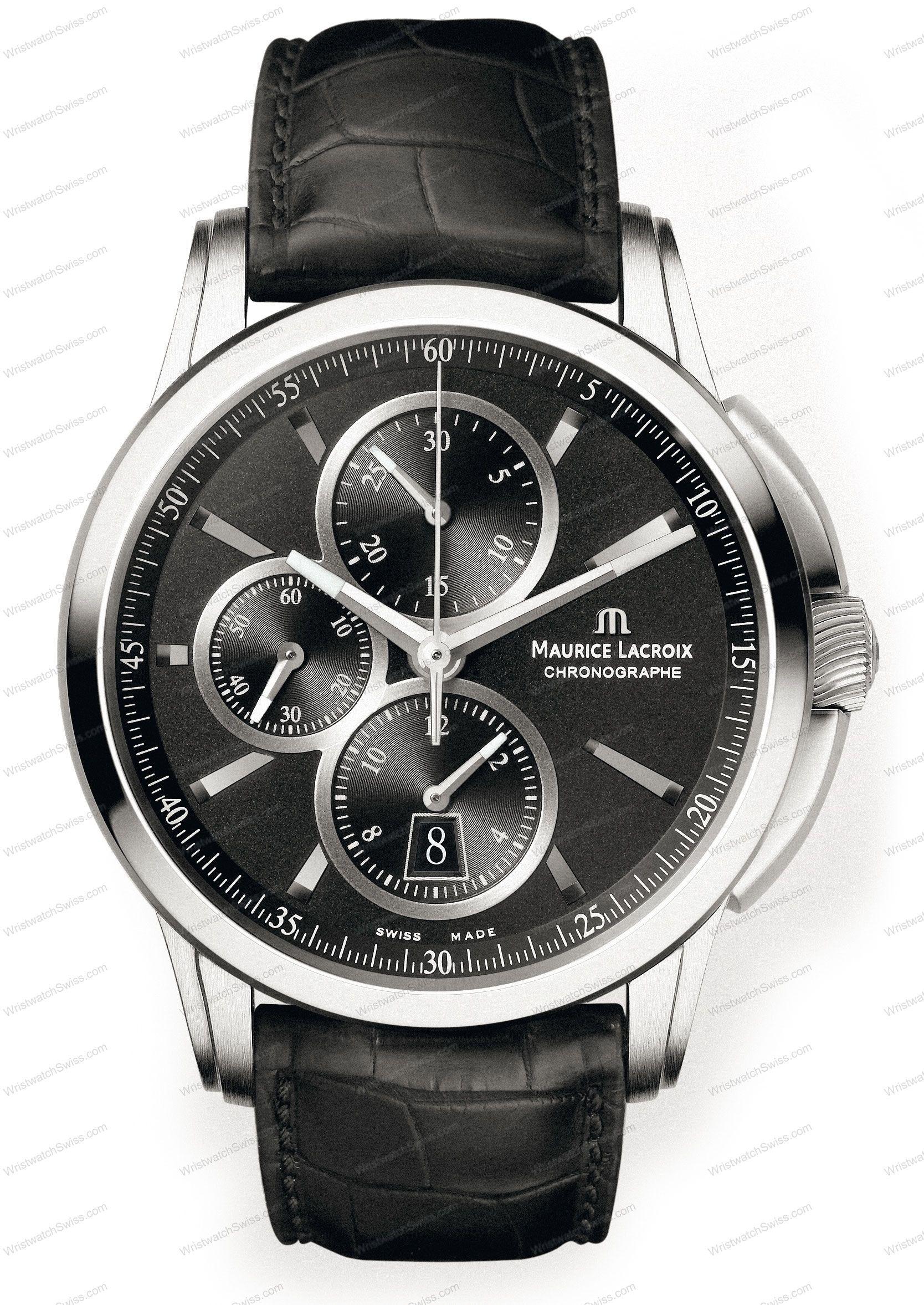 Maurice Lacroix Pontos PT6188-SS001-330 #MauriceLacroix Swiss Watchmakers  #horlogerie #pontos @calibrelondon